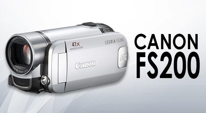 Canon FS200 Video Camcorder